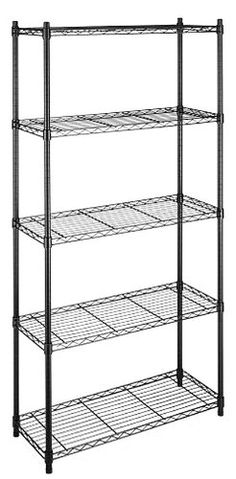 A Multipurpose Storage SolutionStrong and sturdy the Whitmor Supreme Shelving Unit features three four or five shelves that each hold up to 350 pounds. The small shelving unit has three shelves that...