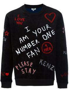 """Kenzo sudadera """"I Love U"""""""
