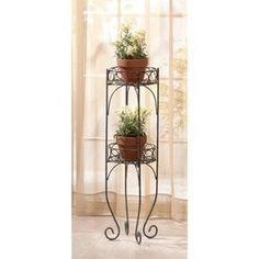 Two-Tier Plant Stand - AC Treasures | Scott's Marketplace