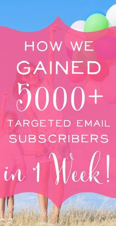 Ummm... this is amazing! The most detailed case study I have ever seen showing exactly how they got so many subscribers so fast. Email Marketing and Blogging Tips Genius. | brilliantbusinessmoms.com