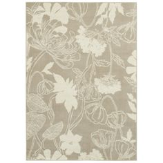 another great area rug, I like this one for the lightness, and touch of elegance exudes.