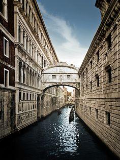 Bridge of Sighs, Venice, Italy © 2012 Max Ziegler