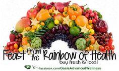 Feast from the Rainbow of Health - Buy fresh & local...