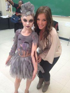 glam zombie costume