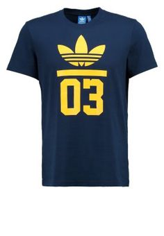 Print T-shirt - collegiate navy