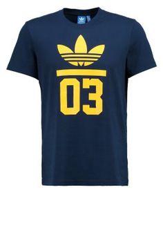 Print T-shirt - collegiate navy
