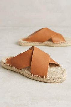 Soludos Criss Cross Sandals - anthropologie.com