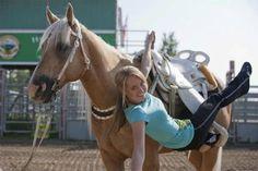 trick riding via Heartland