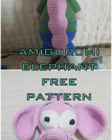 We continue to share the latest amigurumi toy patterns. In this article I will share with you amigurumi elephant necati free crochet pattern. Amigurumi Tutorial, Crochet Patterns Amigurumi, Amigurumi Doll, Crochet Toys, Free Crochet, Crochet Fish, Cute Sheep, Stuffed Toys Patterns, Single Crochet