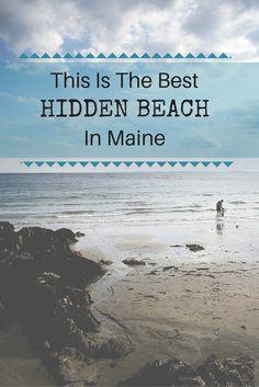 maine, new england, travel, usa, vacation ideas, travel ideas, travel inspiration, bucketlist, summer, beach, beaches, secret beach