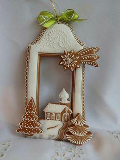 Christmas Desserts, Christmas Themes, Christmas Cookies, Buttercream Flowers, Cake Decorating Tips, Food Themes, Cake Shop, Food Art, Diy Gifts