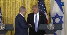 Video & Transcript: President Donald Trump, Israeli Prime Minister Benjamin Netanyahu Joint Press Conference, Weds., Feb. 15, 2017