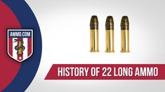 The .22 Long is the next step in the progression from the .22 CB to the .22 Short. While it keeps the 29 grain bullet of the .22 Short, the .22 Long has an increased powder charge. This increases the cartridge's performance, while retaining the low recoil found in the .22 Short. #22long #ammo #ammohistory #22short