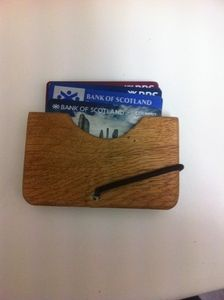 Image of Wooden wallet