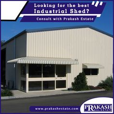 Are you Looking for an industrial shed for rent in Ahmedabad? Prakash Estate helps you to realize the potential value of a property and maximize your chances to get at an affordable price.  http://www.prakashestate.com/industrial-shed  #IndustrialShedforRentinAhmedabad #IndustrialShedforRent