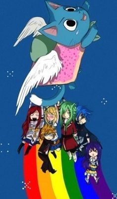 Nyan Happy (Fairy Tail), i shouldnt enjoy this as much as i do