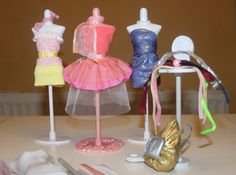 The Harumika designer set comes with everything you need to create beautiful fashions including 3 mannequins, more then 10 themed fabrics, belts and sticker sheets. Everything in the set is reuasable, allowing you to create time and time again.   eBay!