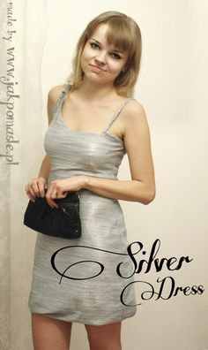 DIY Silver dress
