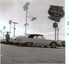 Tasca Ford dealership 1961