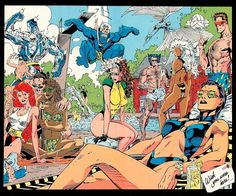 The X-Men's 1991 Pool Party = Everything That's Wrong With The X-Men in 2010