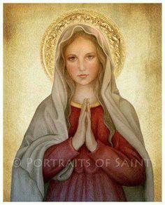Mi madre. María fue Virgen, antes, durante y después del parto.