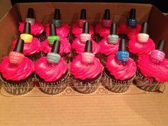 Girlie Girl cupcakes