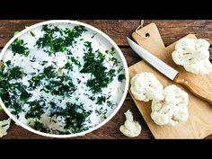 Cum se face salată de conopidă cu maioneză și usturoi (simplă și rapid!) - YouTube Camembert Cheese, Dairy, Youtube, Food, Essen, Meals, Youtubers, Yemek, Youtube Movies