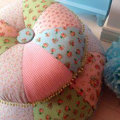 Your kids will love these comfy floral floor cushions. They come in a variety of fabric combination, available on order.