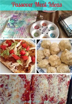 Passover Meal Ideas | The Mama Maven Blog | @themamamaven #pesach #passover
