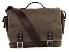 Hudson Wax Messenger - Messenger Bags - Shop - Ernest Alexander