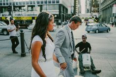 Chicago Illinois America Wedding Bride And Groom Downtown Chicago On The Streets Full Of Life Curescu Wedding Photography Ontario Photographer Windsor Photographer Chicago Illinois, Windsor, Wedding Bride, Ontario, Groom, Wedding Photography, America, Street, Life