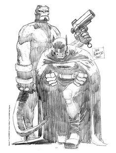 by jonh romita jr Comic Book Artists, Comic Artist, Comic Books Art, Dc Comics, Batman Comics, Funny Batman, Superhero Characters, Comic Book Characters, John Romita Jr