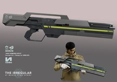"""High Powered Rifle"" from ""The Irregular at Magic High School"" Concept Art / Design by IZMOJUKI"