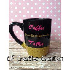 Coffee Before Talkie Mug Funny Coffee Mug by CFCreativeCreations