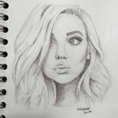 Emily and lincoln's youngest child, harper beautiful drawings, cute drawings, pencil drawings, Girl Drawing Sketches, Face Sketch, Pencil Art Drawings, Cute Drawings, Girl Pencil Drawing, Arte Sketchbook, Painting & Drawing, Drawing Drawing, Drawing Ideas