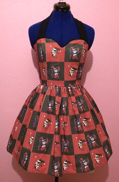 Hey, I found this really awesome Etsy listing at https://www.etsy.com/listing/192684958/harley-quinn-dress