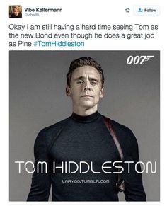 Tom Hiddleston Is Officially Down To Play James Bond