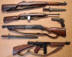 American WW2 Weaponry