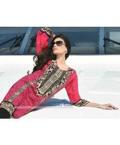 Buy HSY Pakistani Designer Lawn Dresses Online 2015