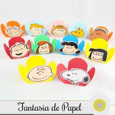 FORMINHAS TURMA DO SNOOPY