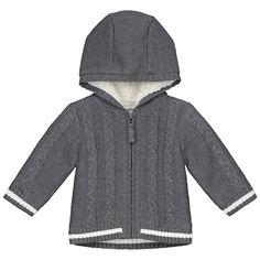 Bekleidung, Baby, Jungen (0 -24 Monate), Jacken, Mäntel & Westen, Jacken & Mäntel Short, Mantel, Raincoat, Baby, Hoodies, Sweaters, Fashion, Gray, Jacket