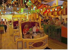 Tips for touring Hollywood Studios Pictured:  Toy Story Midway Mania