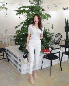 Korean Fashion Kpop, Korean Fashion Summer, Korean Outfits, Asian Fashion, Hyuna Fashion, Girl Fashion, Fashion Outfits, Womens Fashion, Dress Outfits