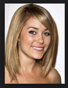 Lauren Conrad-long bob hairstyle.
