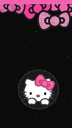 New wallpaper phone dark hello kitty ideas Hello Kitty Bed, Hello Kitty Rooms, Hello Kitty Themes, Hello Kitty Iphone Wallpaper, Hello Kitty Backgrounds, Wallpaper Iphone Disney, Walpaper Iphone, Little Twin Stars, Images Hello Kitty