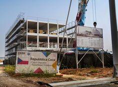 Expo 2015 Milano Blog: Czech pavilion is working hard... very hard !!