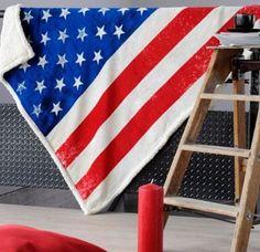 Plaid USA Decoration, Geek Stuff, Flag, Kawaii, City, Polyester, Point, York, Unique