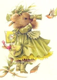images of Vera the mouse by Marjolein Bastin | Vera The Mouse Artist Marjolein Bastin