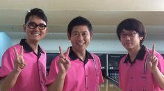 maggyshinji :ボウリング番組収録!マセキチームです^_^ pic.twitter.com/Baaqc6tTcY