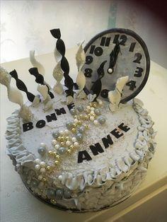 Happy new years cake